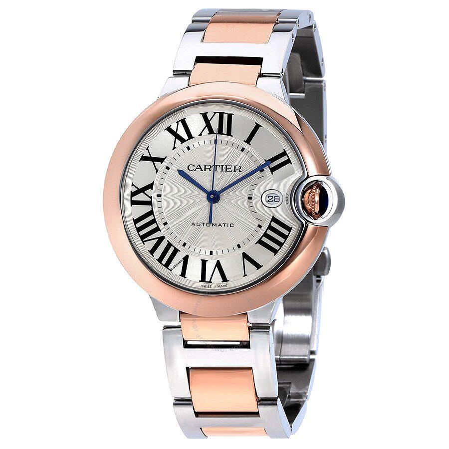 e1713f1e1fe Cartier Ballon Bleu De Cartier Guilloche Dial Automatic Men s Watch  W2BB0004 ...
