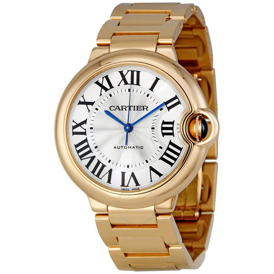 Cartier Ballon Bleu Medium 18k Rose Gold Watch W69004Z2 - Ballon ... 50b3ade9f