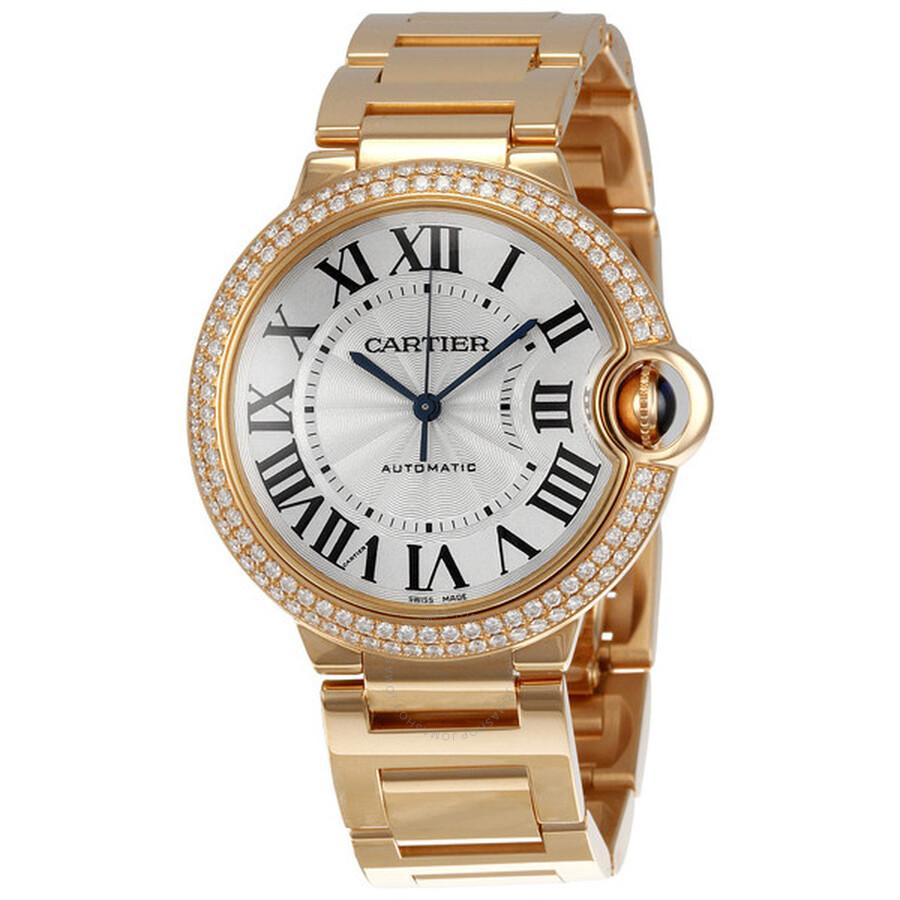 Cartier Ballon Bleu Medium 18k Rose Gold Watch