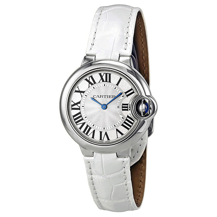9cf4071ea3c0 Cartier Ballon Bleu Silver Dial Ladies Watch W6920086 - Ballon Bleu ...