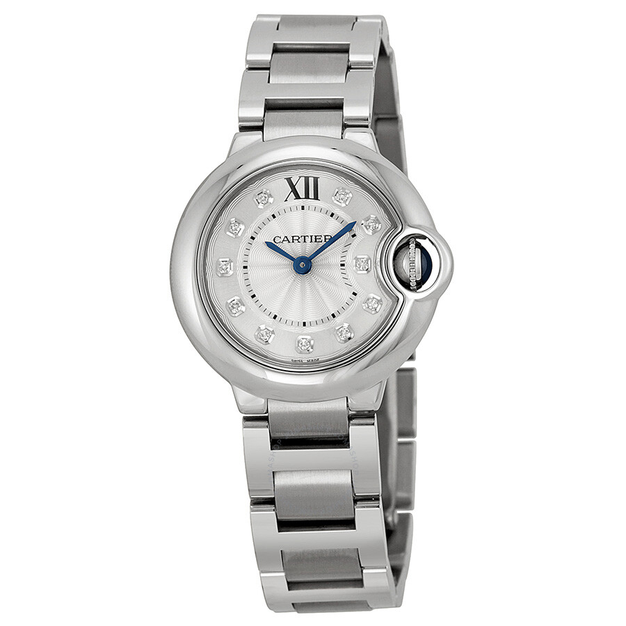 Cartier Diamond Watch Ladies