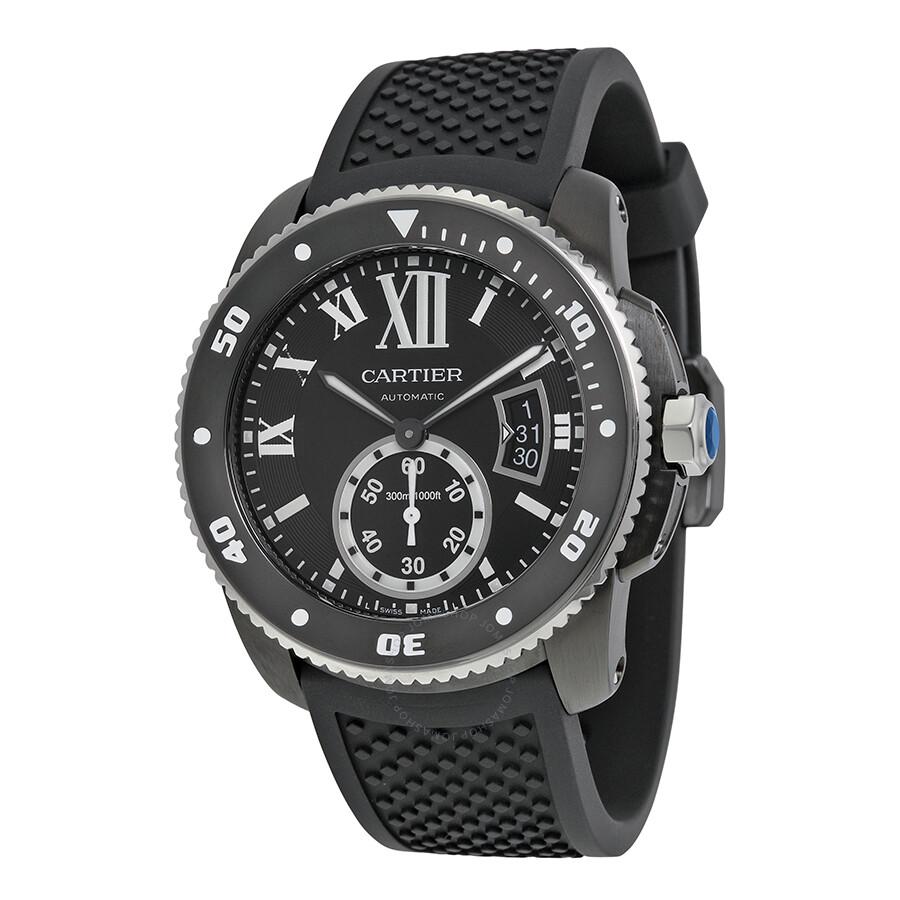 23bdc282ad6 Cartier Calibre de Cartier Diver Automatic Divers Men s Watch WSCA0006 ...