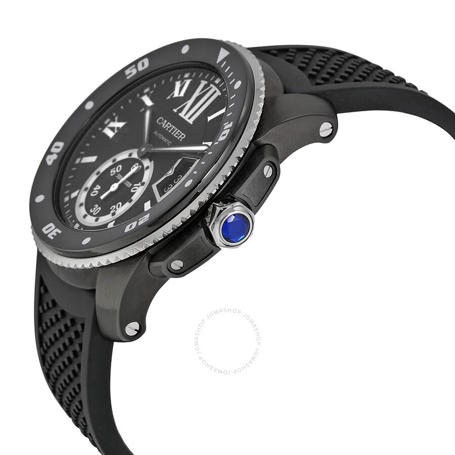 8663ff2c03e ... Cartier Calibre de Cartier Diver Automatic Divers Men s Watch WSCA0006  ...