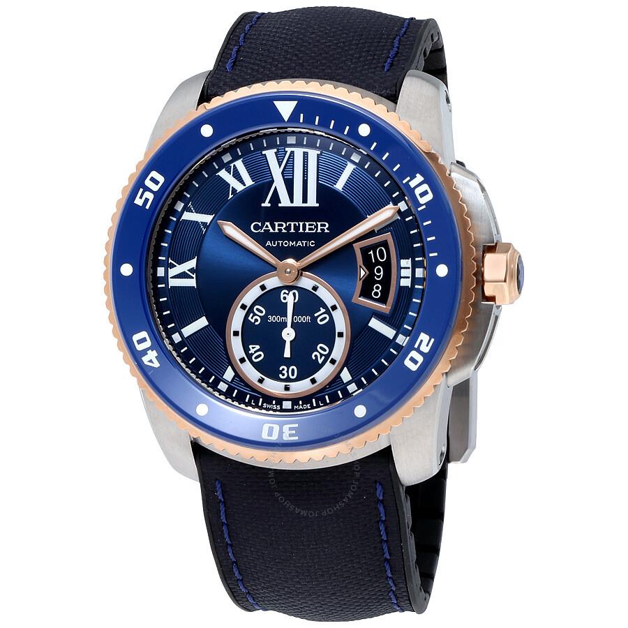 2ba40af389a Cartier Calibre De Cartier Diver Automatic Men s Watch W2CA0008 ...