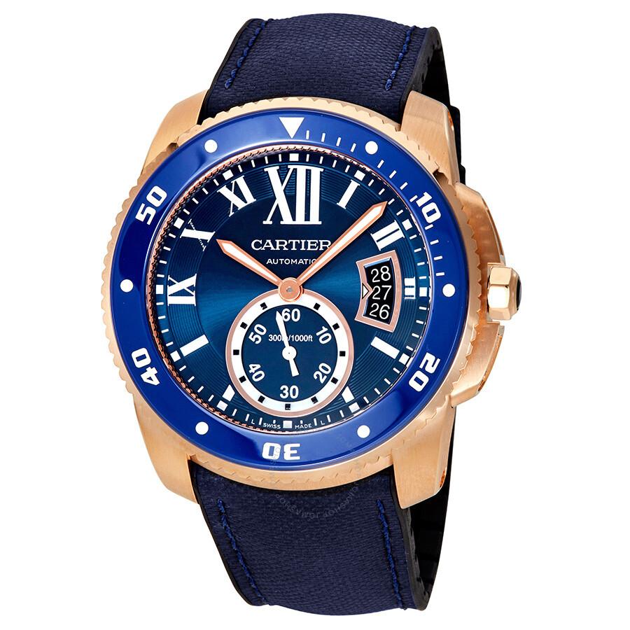 2c3c9219ed9 Cartier Calibre De Cartier Diver Automatic Men s Watch