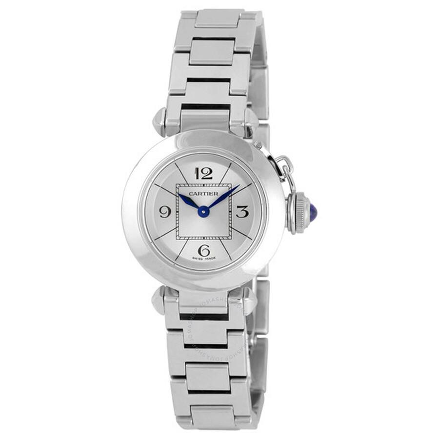 fbf317de32bde Cartier Miss Pasha Small Watch W3140007 - Pasha - Cartier - Watches ...