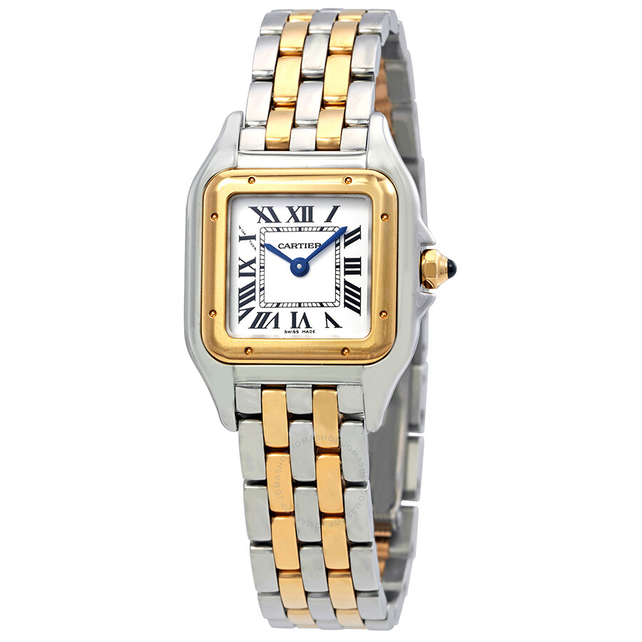 f5b2e5bcec48 Cartier Panthere de Cartier Ladies Stainless Steel and 18K Yellow Gold Watch  W2PN0006 ...
