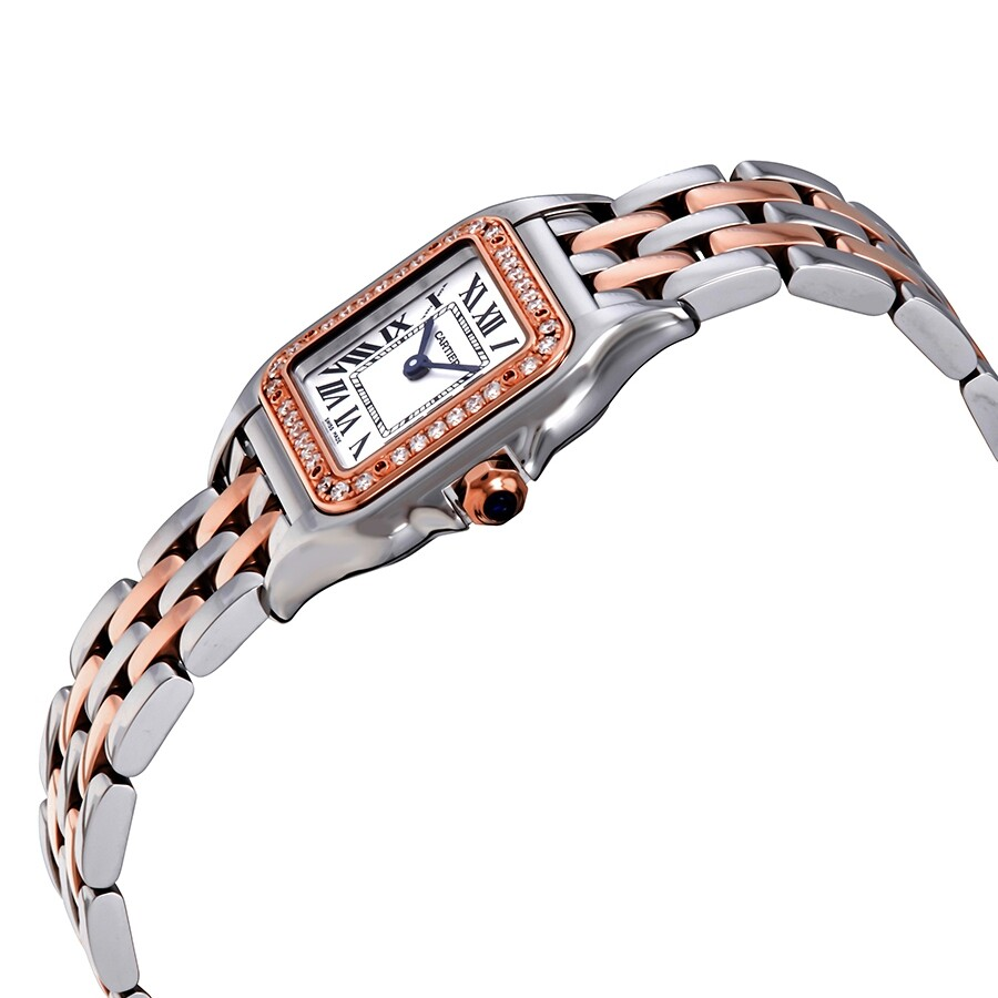 Cartier Panthere De Cartier Ladies Stainless Steel And 18kt Rose