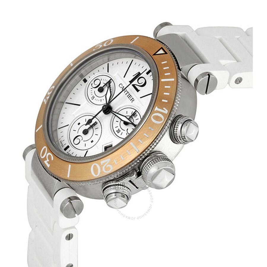 Cartier Pasha Seatimer Chronograph Ladies Watch W3140004 Cartier Pasha  Seatimer Chronograph Ladies Watch W3140004 ... 4a5c4e69a4