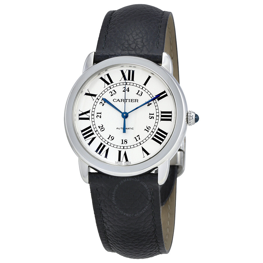 Ronde Solo Automatic Silver Opaline Dial Ladies Watch WSRN0021