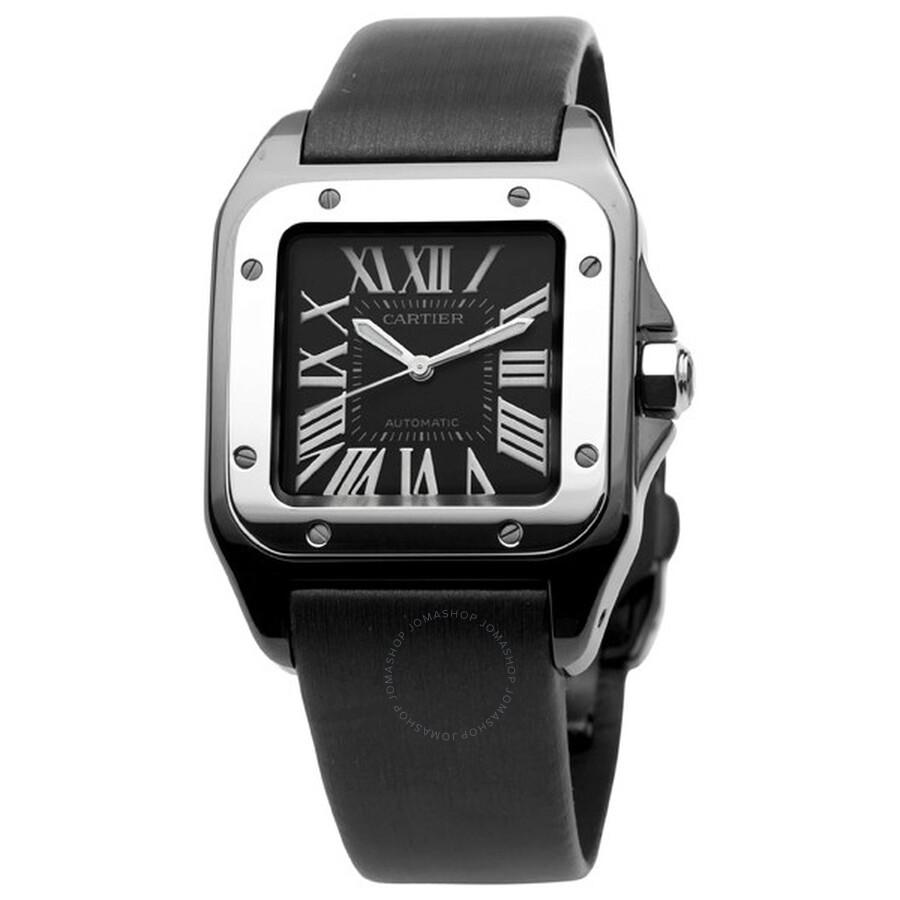 a30ef1ecbe87 Cartier Santos 100 Medium Watch W2020008 - Santos 100 - Cartier ...