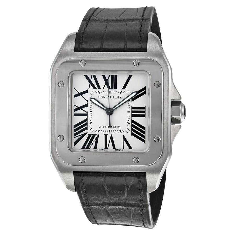 e0f6223b6e1c Cartier Santos 100 Steel Automatic Large Men s Watch