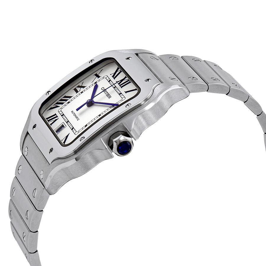3d266673f23e7 Cartier Santos De Cartier Large Automatic Men s Watch WSSA0009 ...