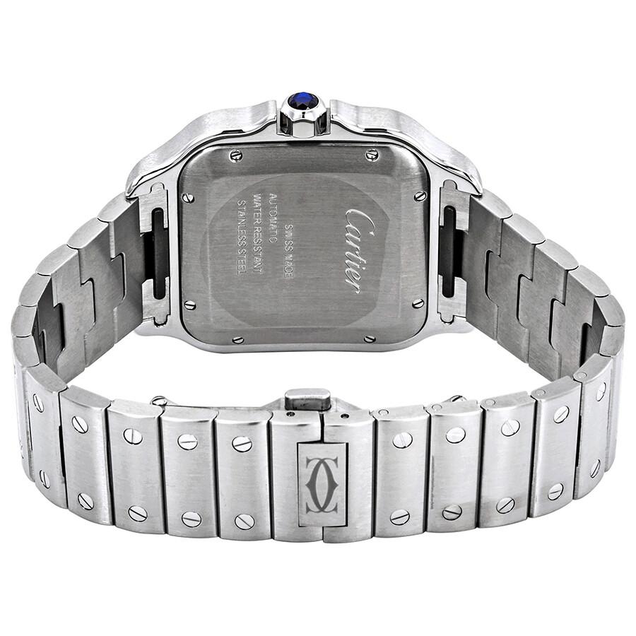 90ea4fa03 Cartier Santos De Cartier Large Automatic Men's Watch WSSA0009 ...