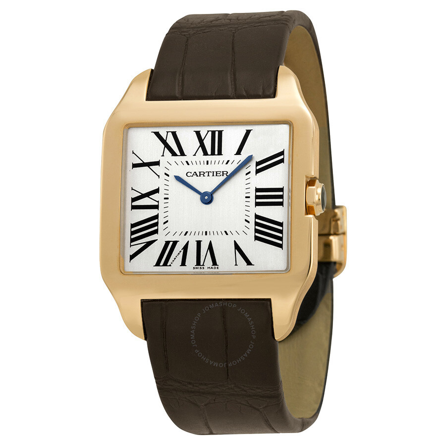 f2f90dd2a38 Cartier Santos-Dumont Rose Gold Men s Watch W2006951 - Santos ...
