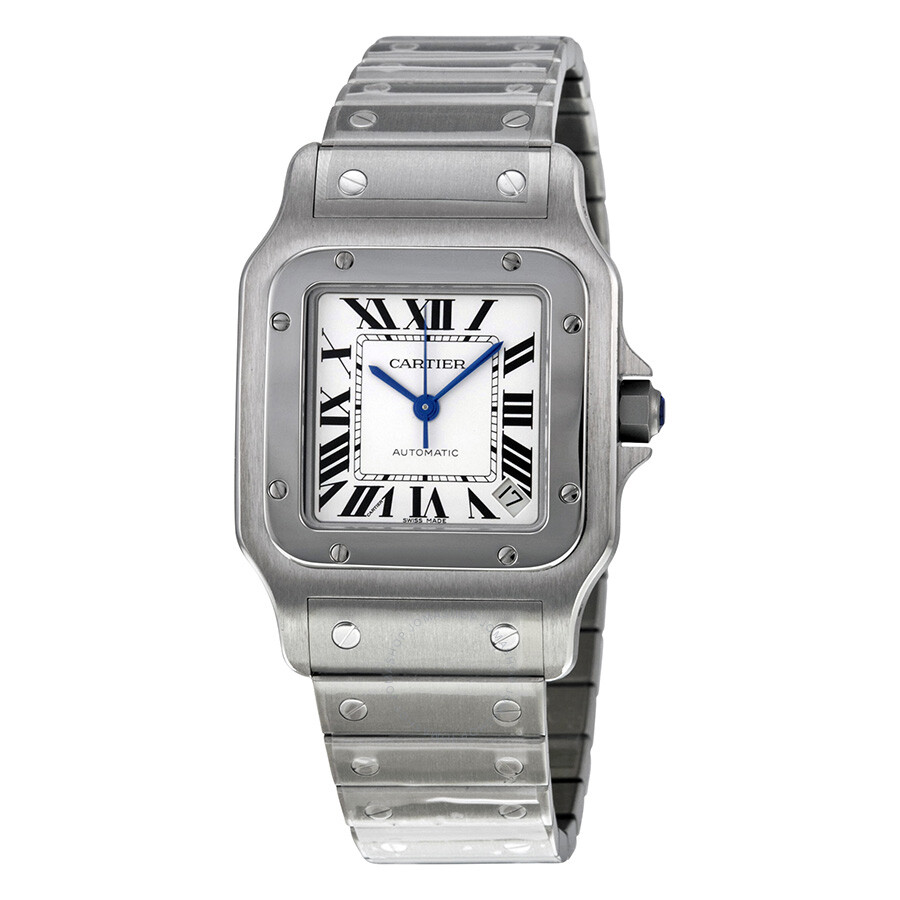 Cartier Santos Galbee Steel Men S Watch W20098d6 Santos