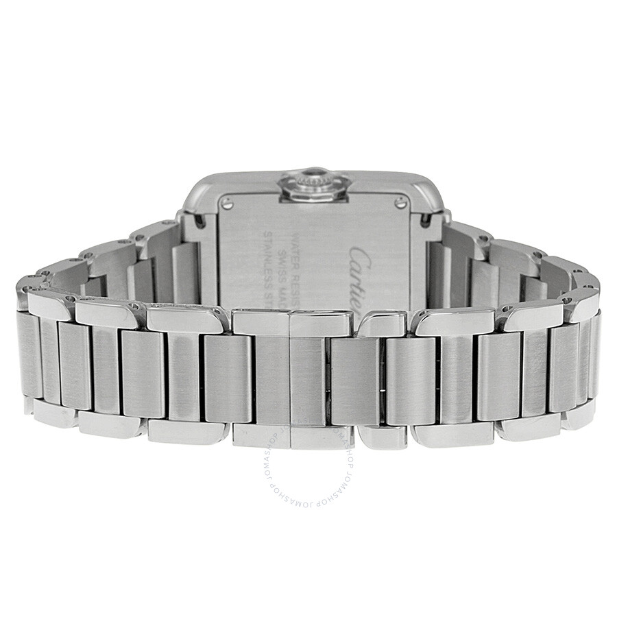 Tank Anglaise Silver Dial Ladies Watch W5310022