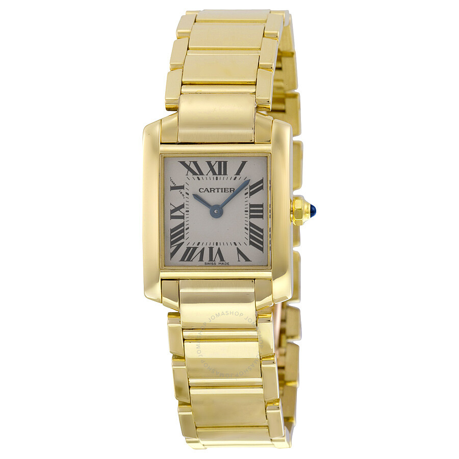 98869d79dc184 Cartier Tank Francaise 18kt Yellow Gold Ladies Watch W50002N2 - Tank ...