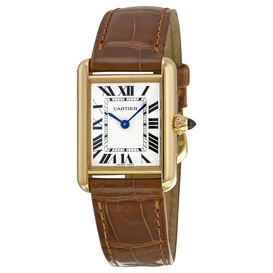cartier tank louis 18kt yellow gold ladies watch w1529856 tank louis cartier watches. Black Bedroom Furniture Sets. Home Design Ideas