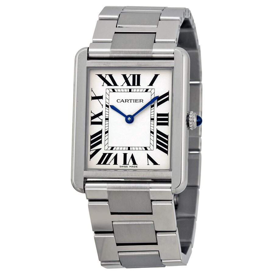 cartier tank solo large watch w5200014 tank solo cartier watches jomashop. Black Bedroom Furniture Sets. Home Design Ideas