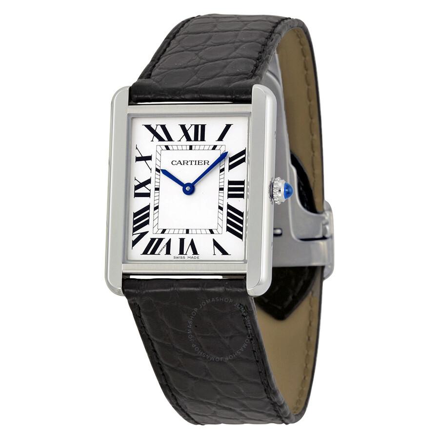 e6bb12c6bedc Cartier Tank Solo Steel Large Watch W5200003 - Tank Solo - Cartier ...