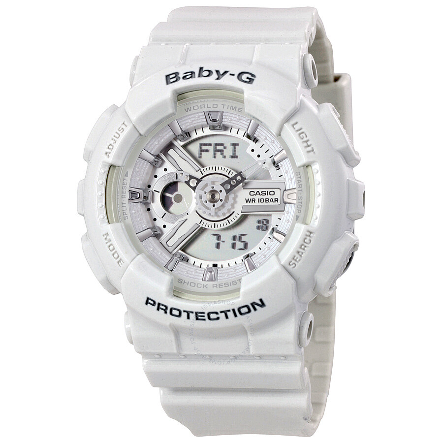 Casio Baby-G Analog-Digital Dial Ladies Watch BA110-7A3CR - Baby-G ... 13b7de523e4a