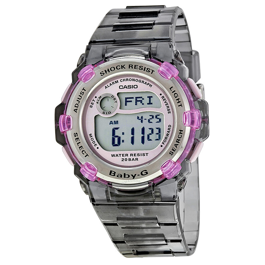 59be7214a Casio Baby G Chaton Pink Slimmarine Ladies Watch BG3000-8 - Baby-G ...