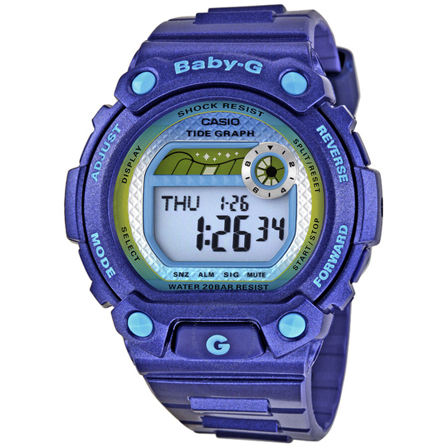 Casio Baby G G Lide Tide Graph Purple Ladies Watch BLX100-2 Item No.  BLX100-2D 4596f84eccdc