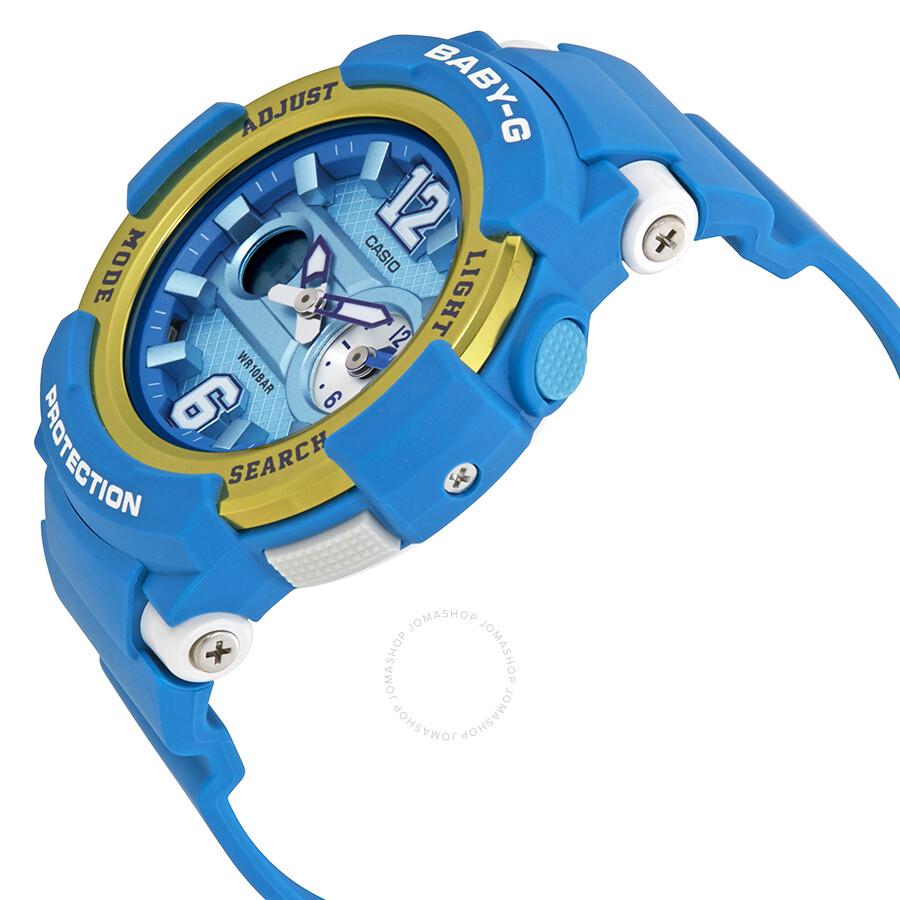 405f1b42aeb Casio Baby-G Ladies Analog-Digital Watch BGA-210-2B - Baby-G - Casio ...
