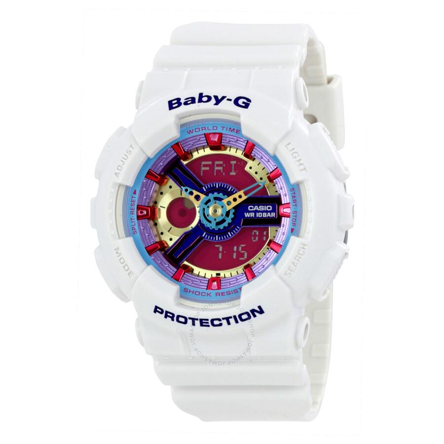 Casio Baby G Ladies Watch Ba112 7a Baby G Casio Watches Jomashop