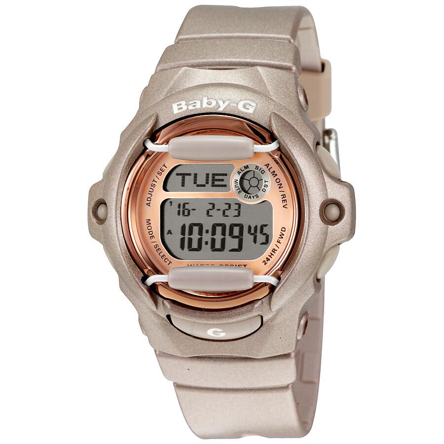Casio Baby G Pink Ladies Watch Bg169g 4cr Baby G Casio