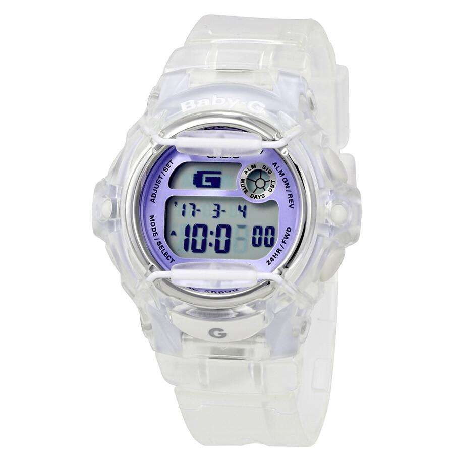 db55c71197fd Casio Baby-G Transparent Resin Digital Ladies Watch BG169R-7ECR ...