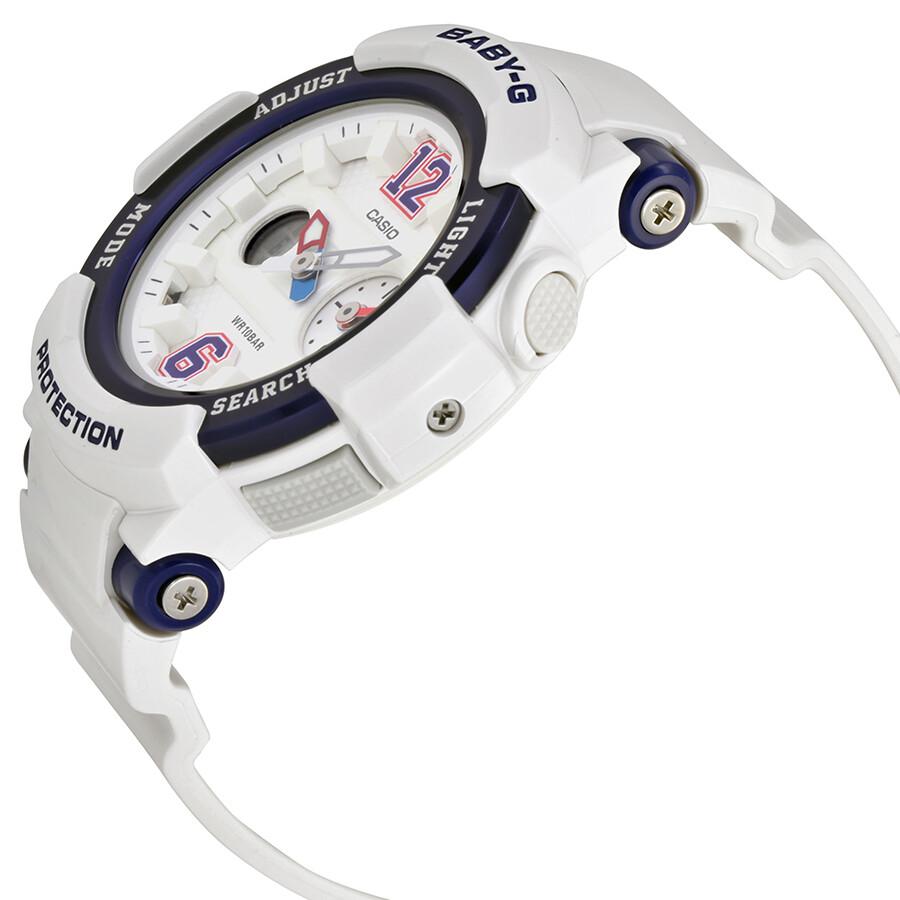 f96200de335 ... Casio Baby-G White Dial Ladies Multifunction Sports Watch BGA-210-7B2  ...