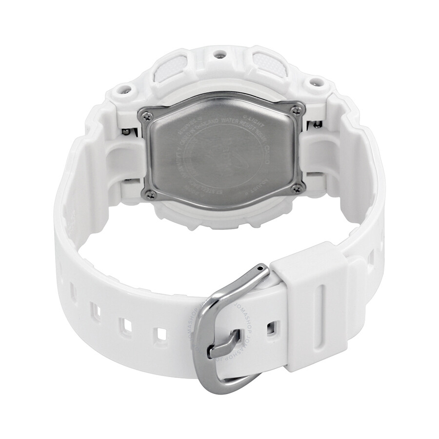 ... Casio Baby G White Resin Ladies Watch BA110-7A1
