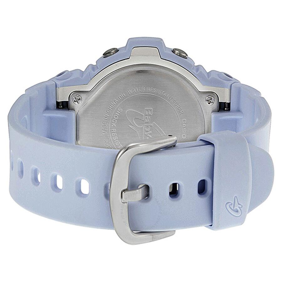 22dd0ffb3582 ... Casio Baby-G Metallic Purple Dial White Resin Ladies Watch BG6902-2CR  ...