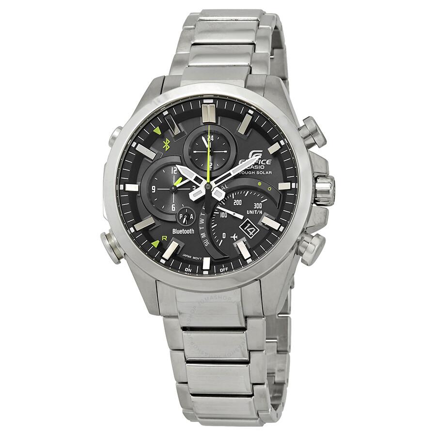 Casio Edifice Alarm Smartphone Link Solar Powered Watch EQB-501D-1ACF ... 7b88daca1b3
