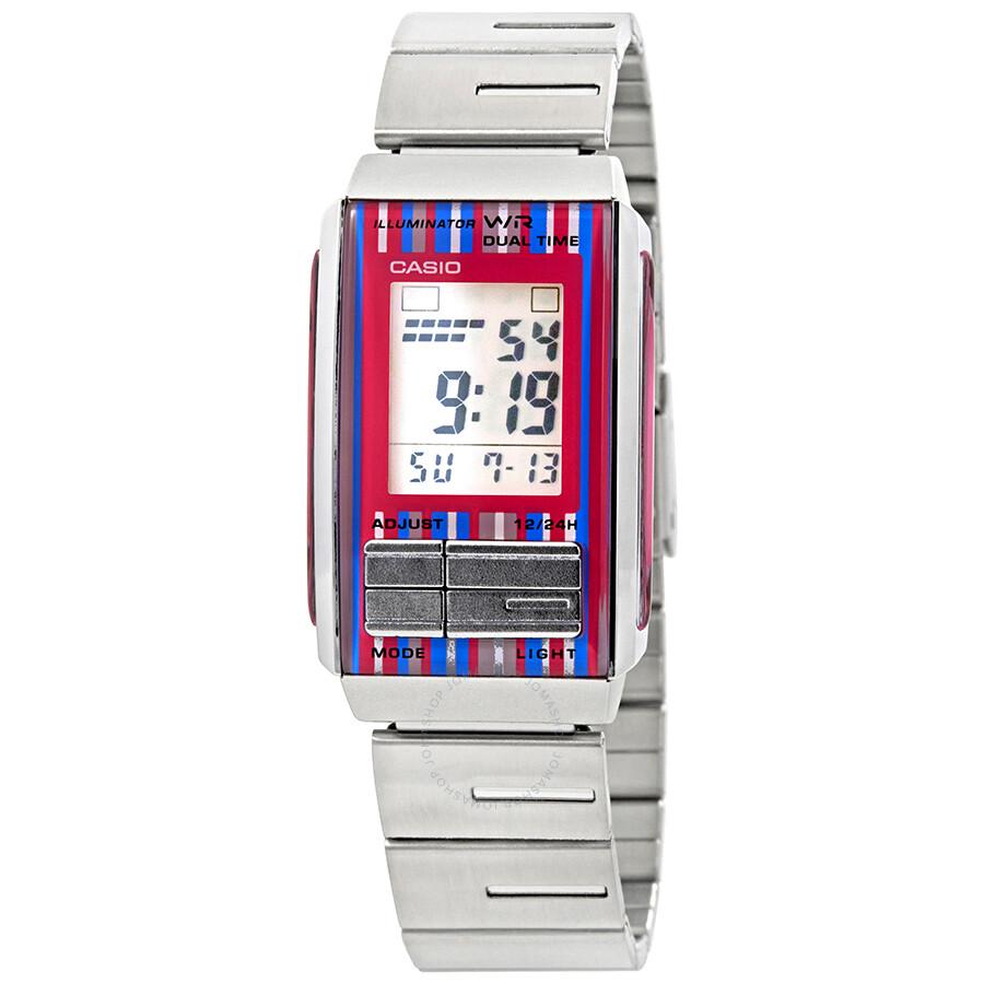 f231f043c Casio Futurist Ladies Digital Watch LA201W-4C - Casio - Watches ...