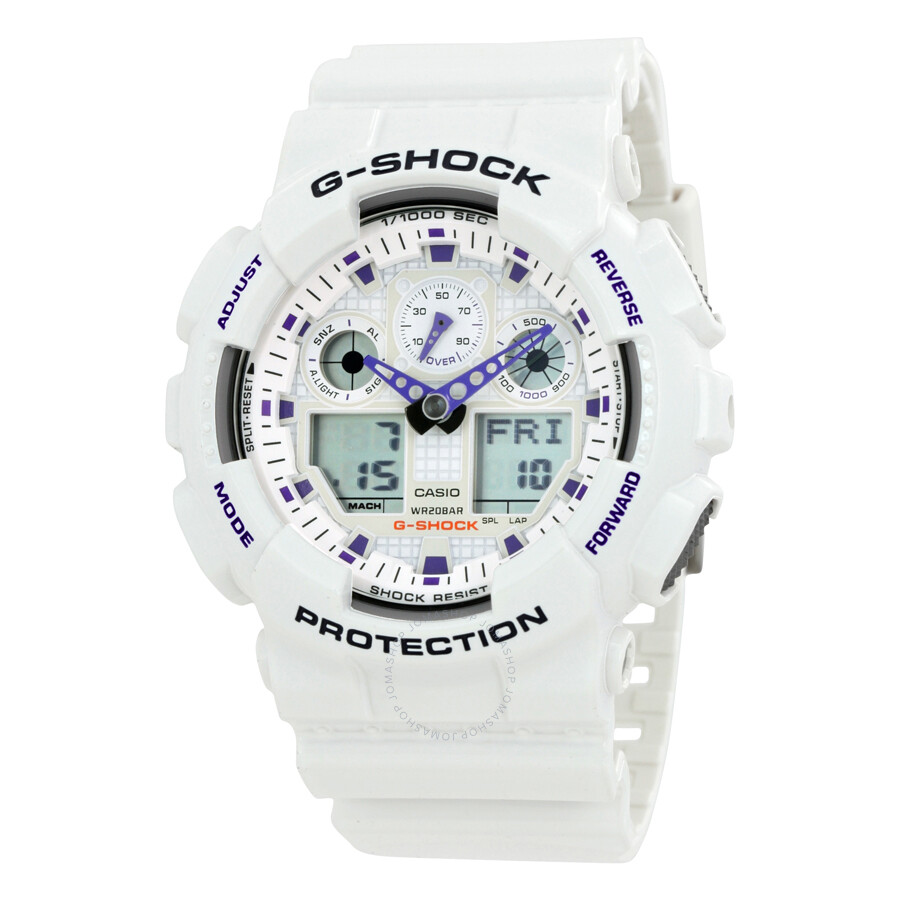 3e7de0d48 Casio G Shock Analog Digital White Dial Men s Watch GA100A-7 Item No.  GA100-7