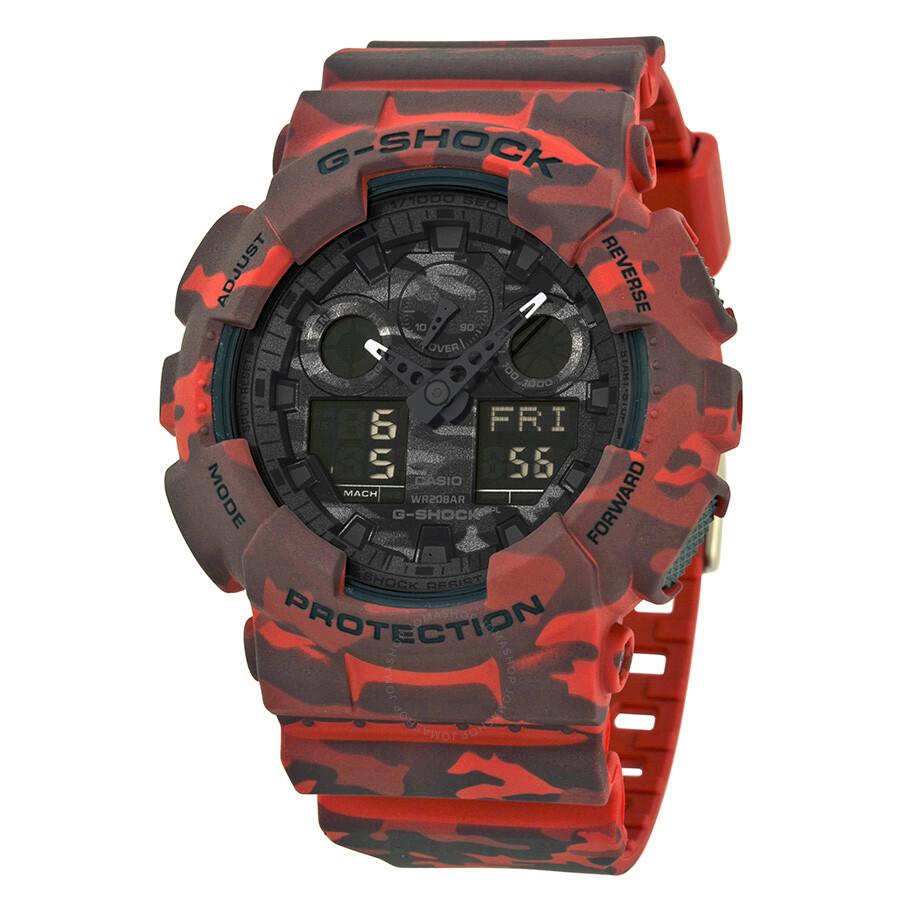 081cbe6f1c68 Casio G Shock Black Analog-Digital Dial Men s Watch GA100CM-4A - G ...