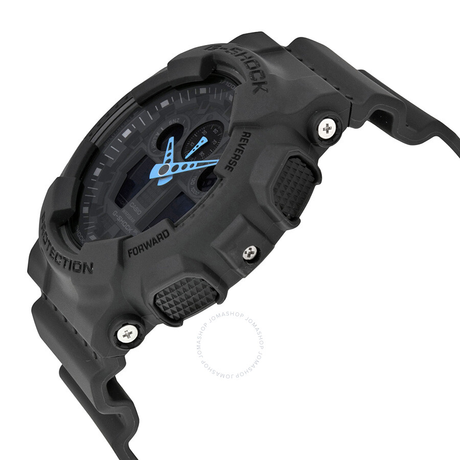 41a59ad35 Casio G Shock Grey Dial Resin Men's Watch GA100C-8ACR - G-Shock ...