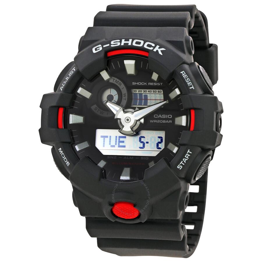 Casio G Shock Watches Jomashop Gst 210b 1a Black Dial Mens Multifunction Digital Watch