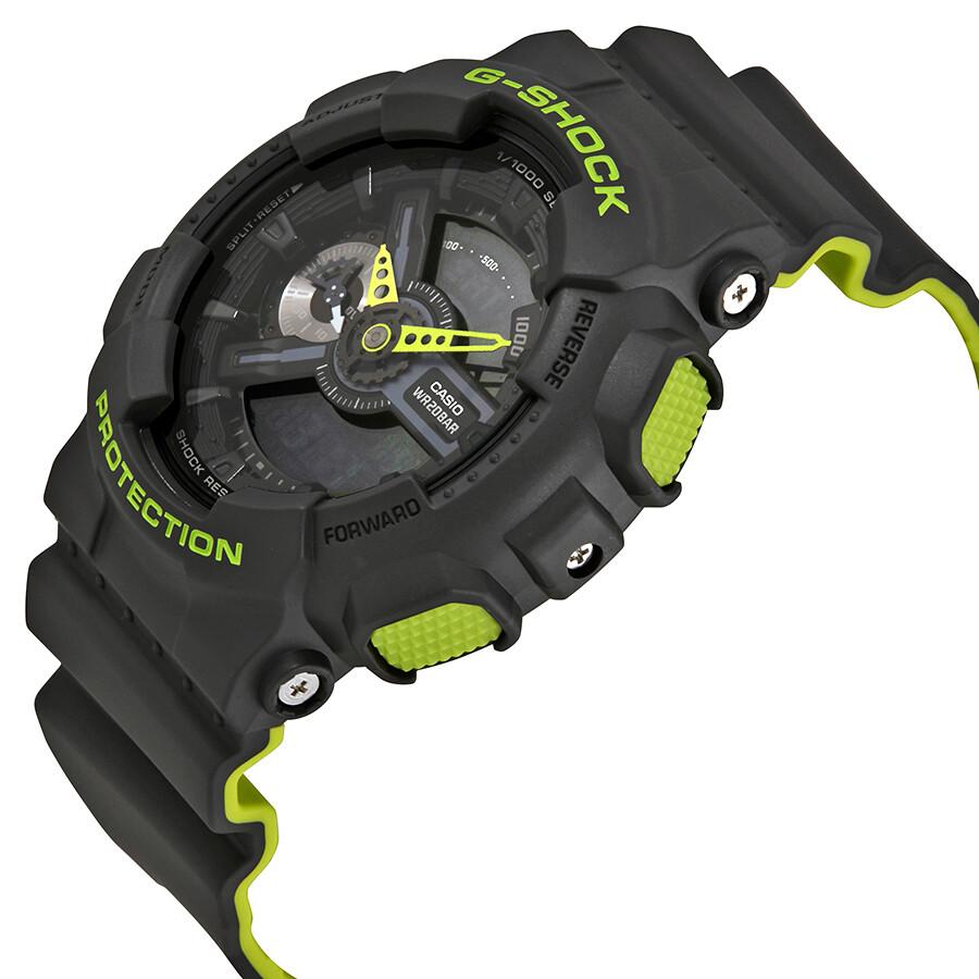 be02c4359 ... Casio G-Shock Black Dial Men's Neon Sports Watch GA110LN-8A ...