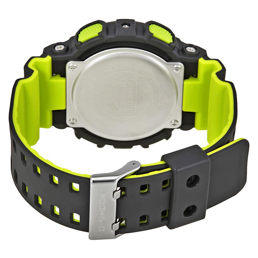 648ae50ea Casio G-Shock Black Dial Men's Neon Sports Watch GA110LN-8A - G ...