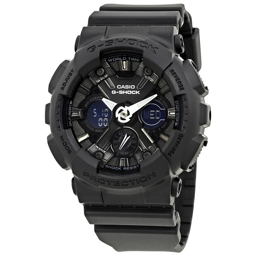 3f6a657d59c Casio G-Shock Black Dial Resin Men s Watch GMA-S120MF-1ACR - G-Shock ...