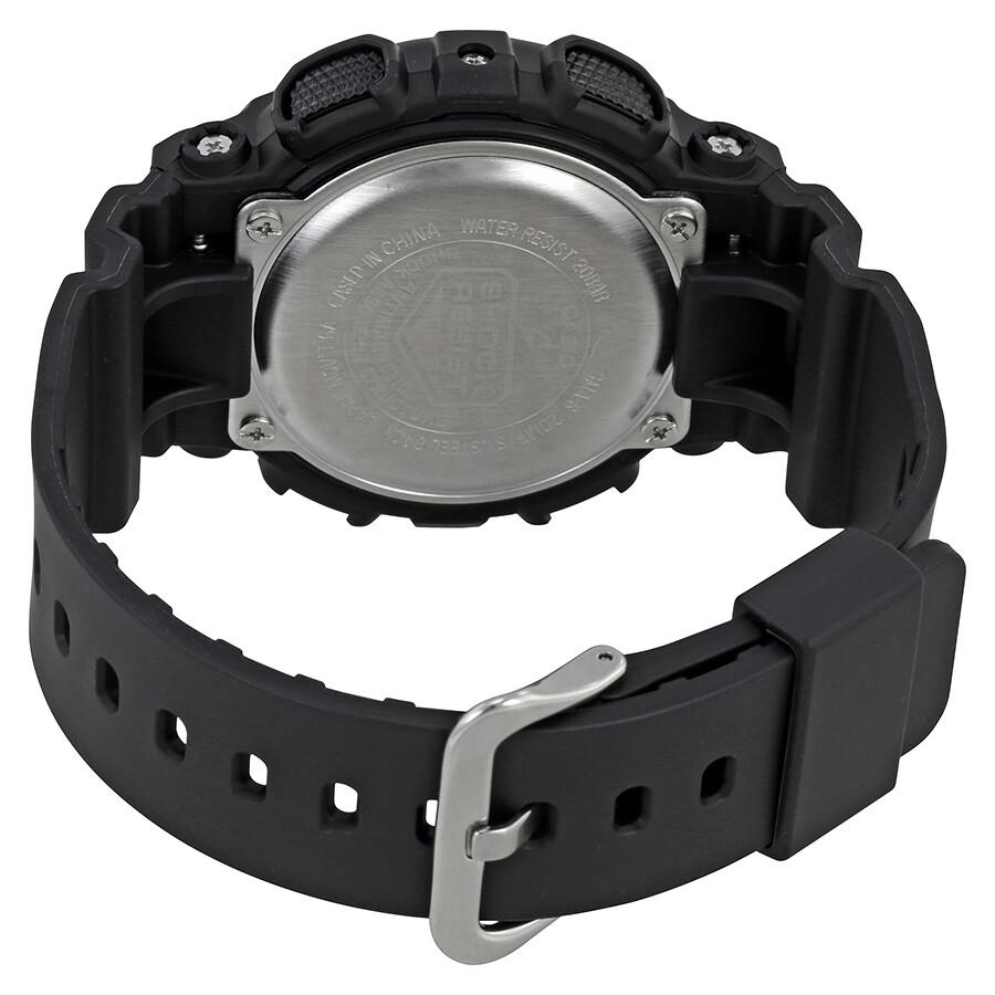 5a1040ff637 Casio G-Shock Black Dial Resin Men s Watch GMA-S120MF-1ACR - G-Shock ...