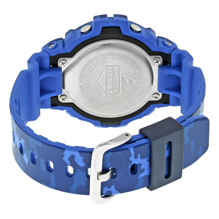 69c9f655018f Casio G-Shock Blue Camouflage Resin Men's Watch GMDS6900CF-2 - G ...