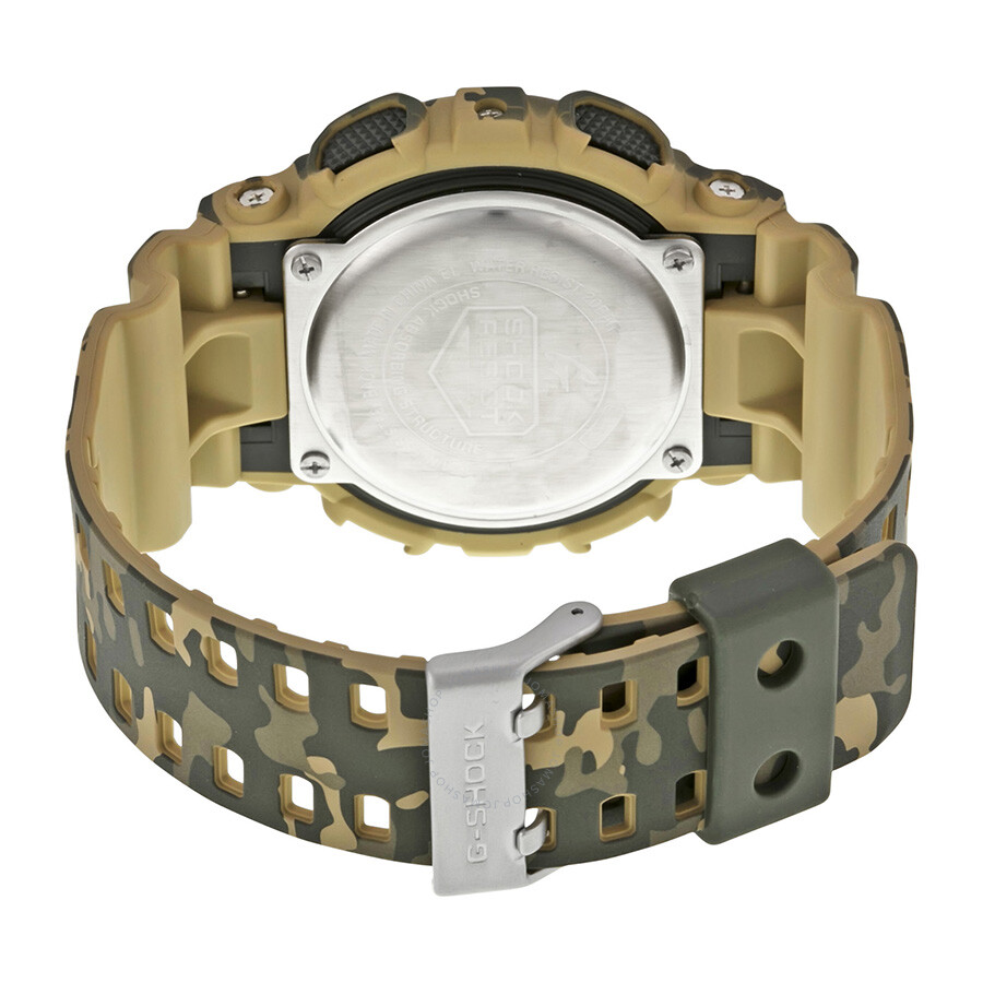 60c987530cf6 Casio G Shock Classic Brown Camouflage Resin Men s Watch GD120CM-5CR ...