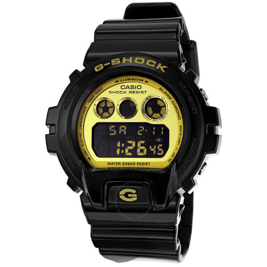 a4dbaeaf9a1d Casio G Shock Classic Gold Dial Digital Multifunction Men s Watch  DW6900CB-1 ...