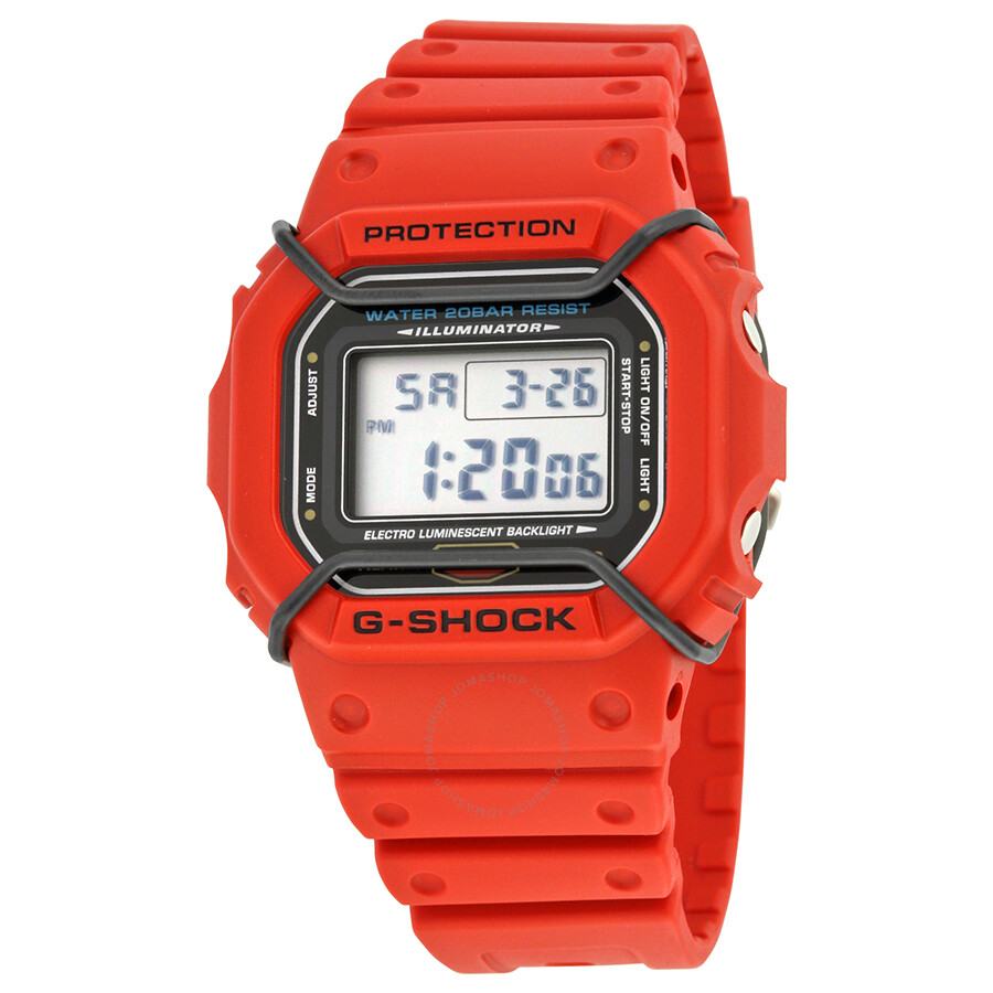 casio g shock digital resin s dw5600p 4