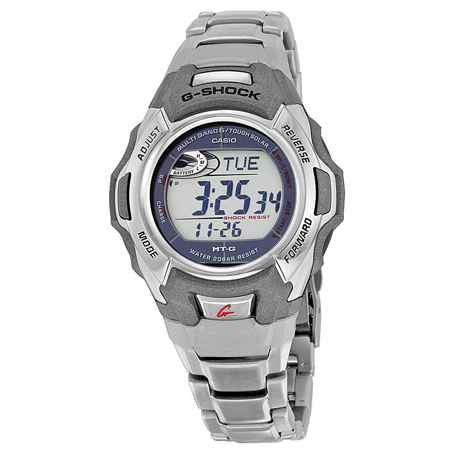 Casio G Shock Digital Dial Stainless Steel Men S Watch Mtgm900da 8cr